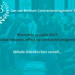 JvB Scriptieprijs winnares Milada Odenkrichen