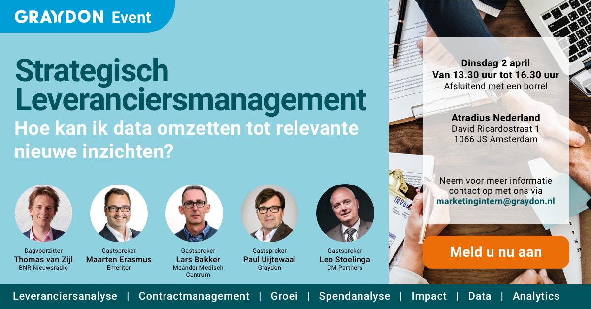 Event: Strategich Leveranciersmanagement - Graydon
